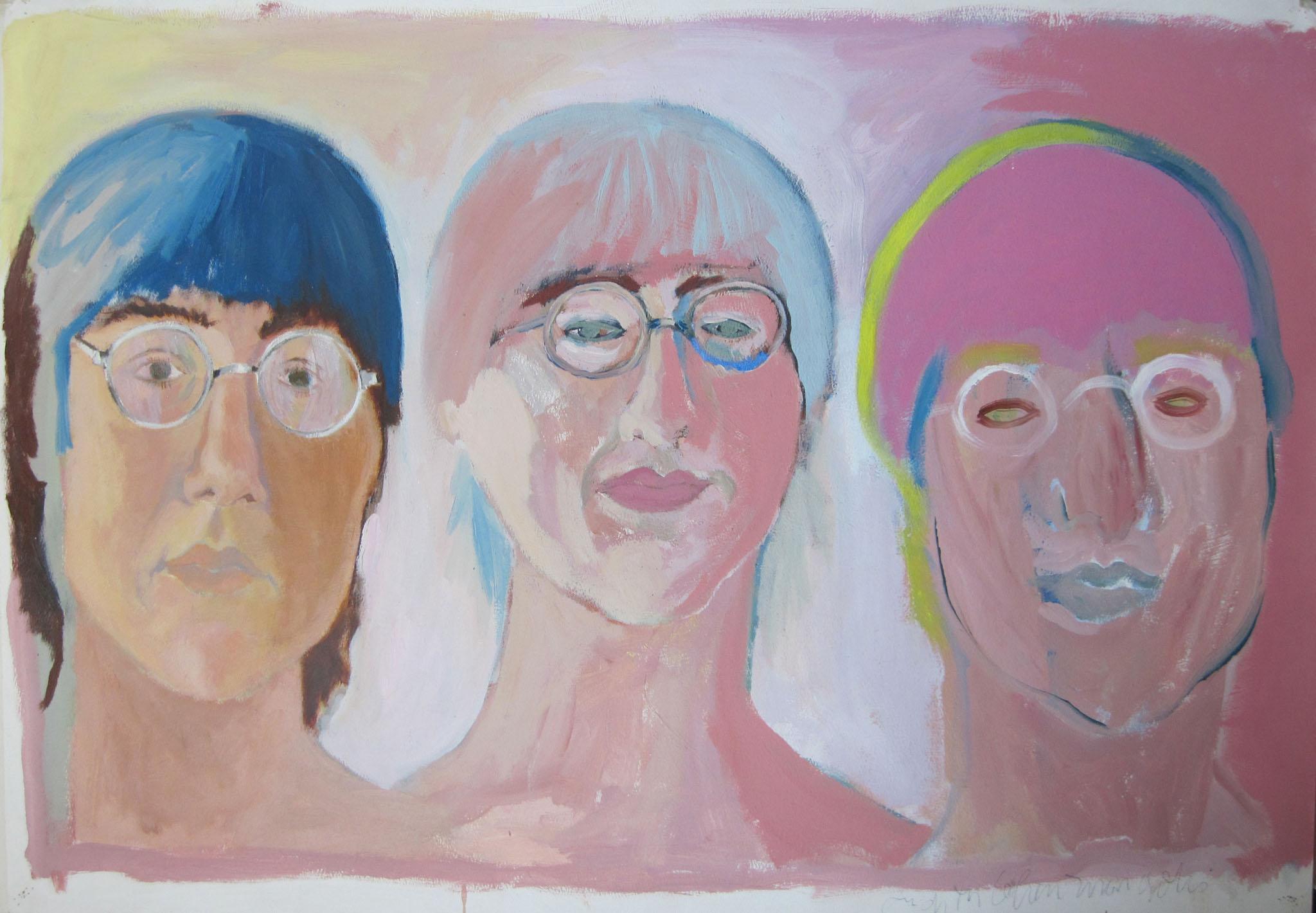 triple faces